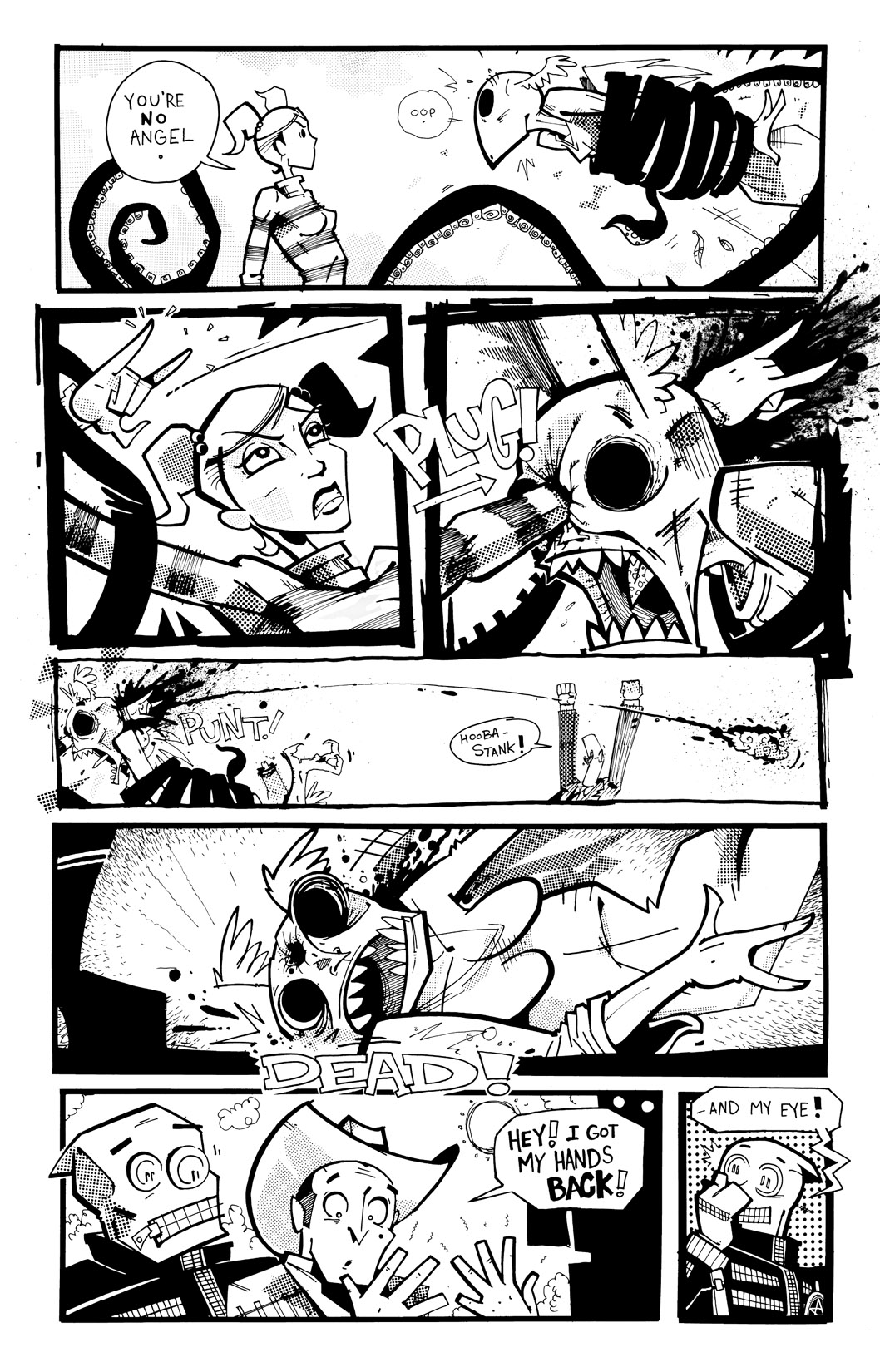Read online Scud: The Disposable Assassin: The Whole Shebang comic -  Issue # TPB (Part 4) - 132