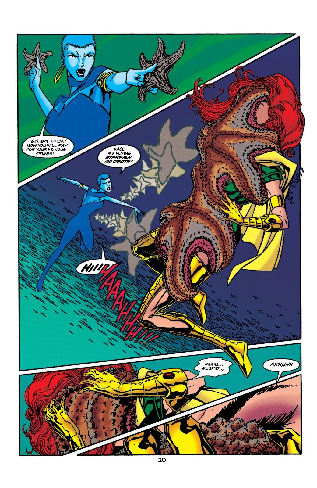 Aquaman (1994) Issue #41 #47 - English 21