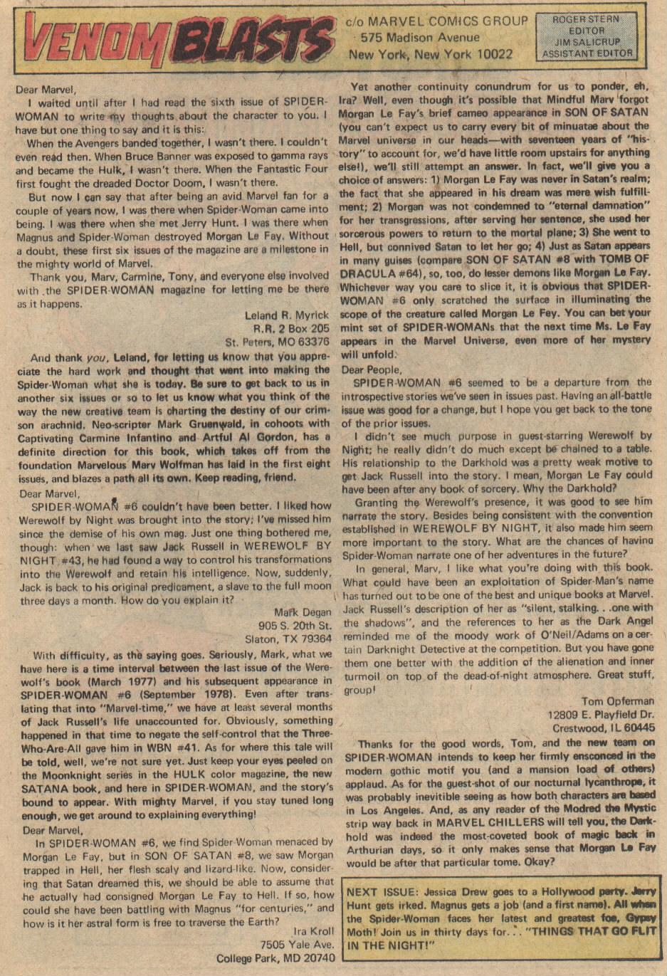 Spider-Woman (1978) #9 #42 - English 12