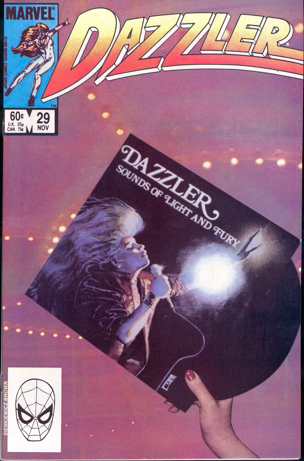 Dazzler (1981) 29 Page 1
