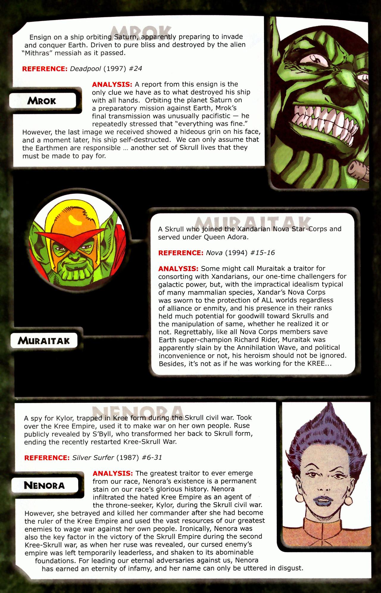 Read online Skrulls! comic -  Issue # Full - 32