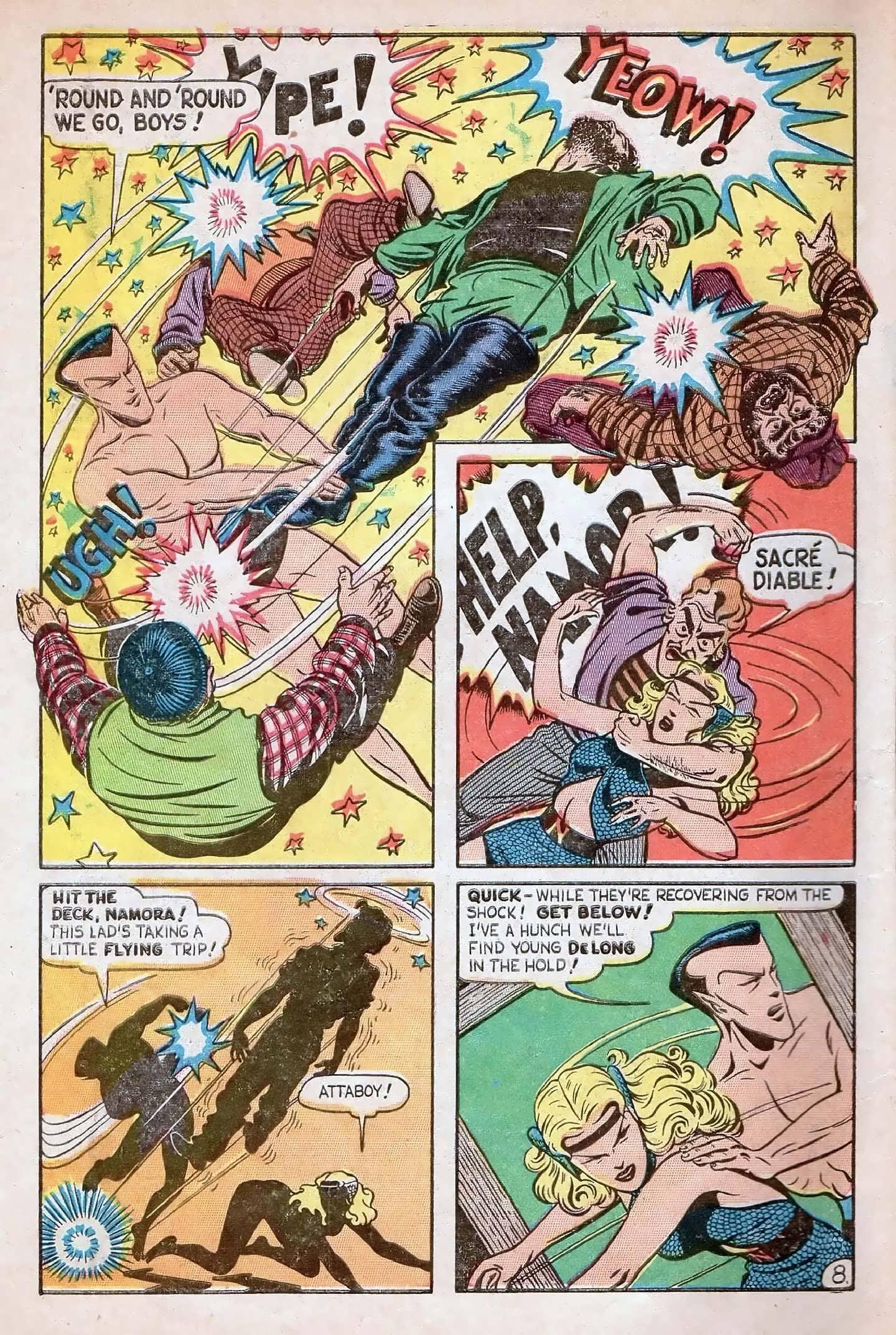 Sub-Mariner Comics #27 #27 - English 10
