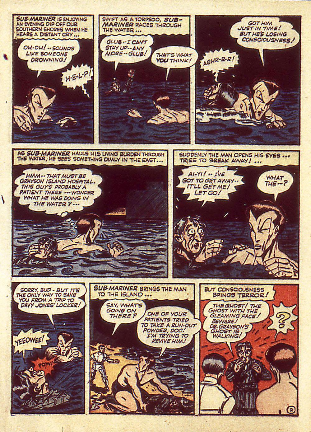 Sub-Mariner Comics Issue #4 #4 - English 5