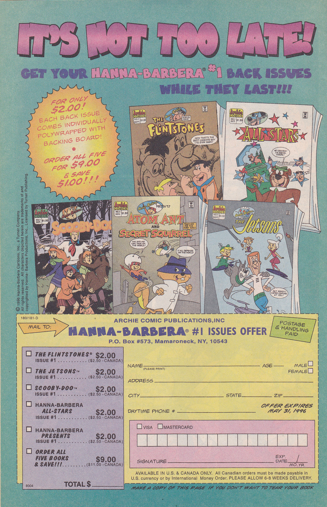 Read online Scooby-Doo (1995) comic -  Issue #8 - 10