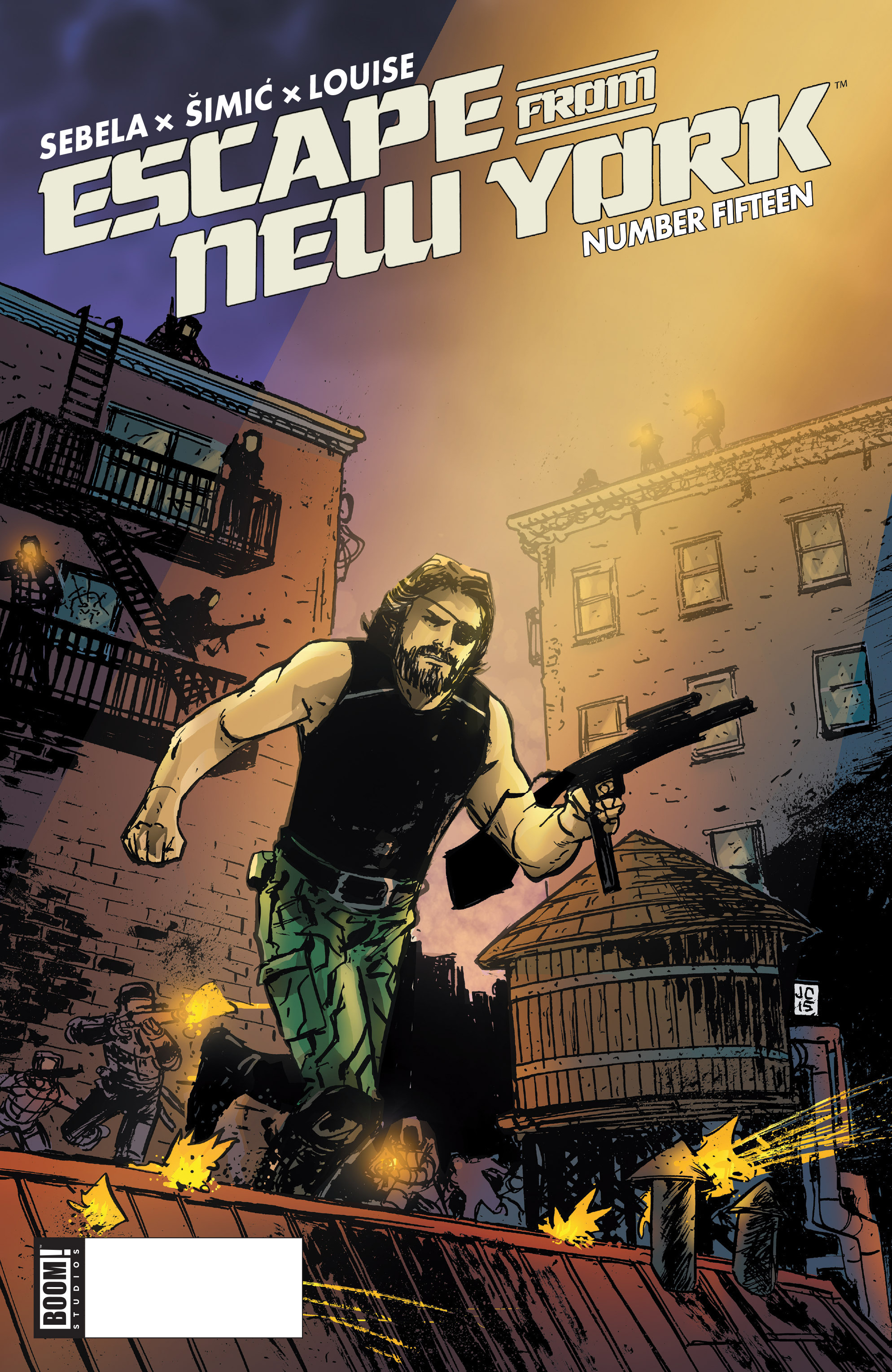 Read online Escape from New York comic -  Issue #15 - 1
