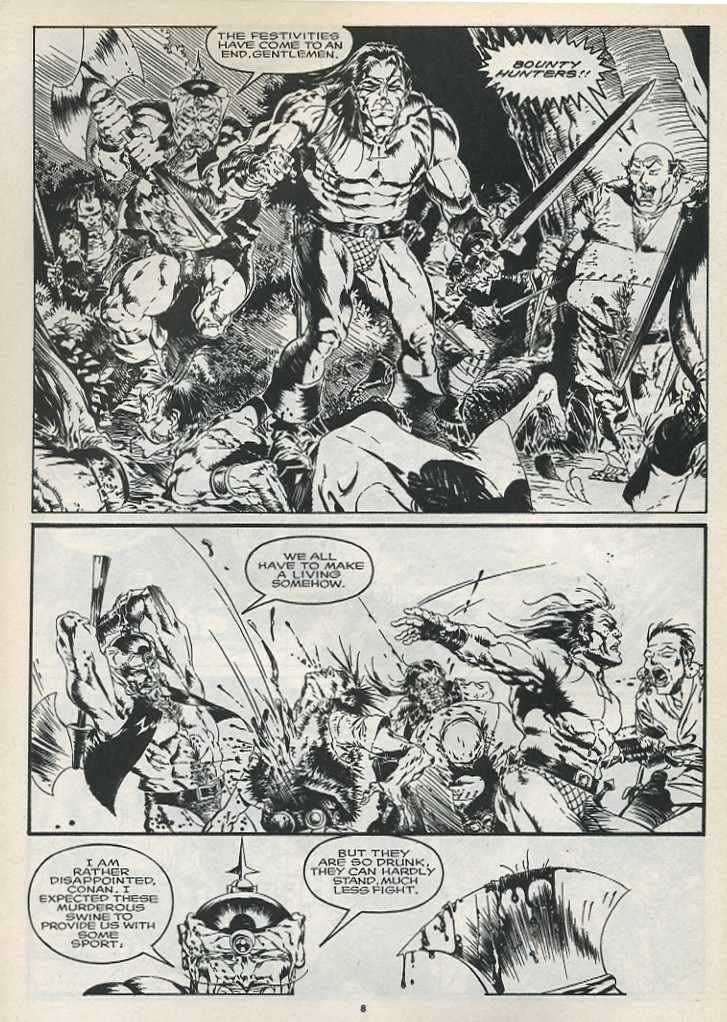 The Savage Sword Of Conan Issue #175 #176 - English 10