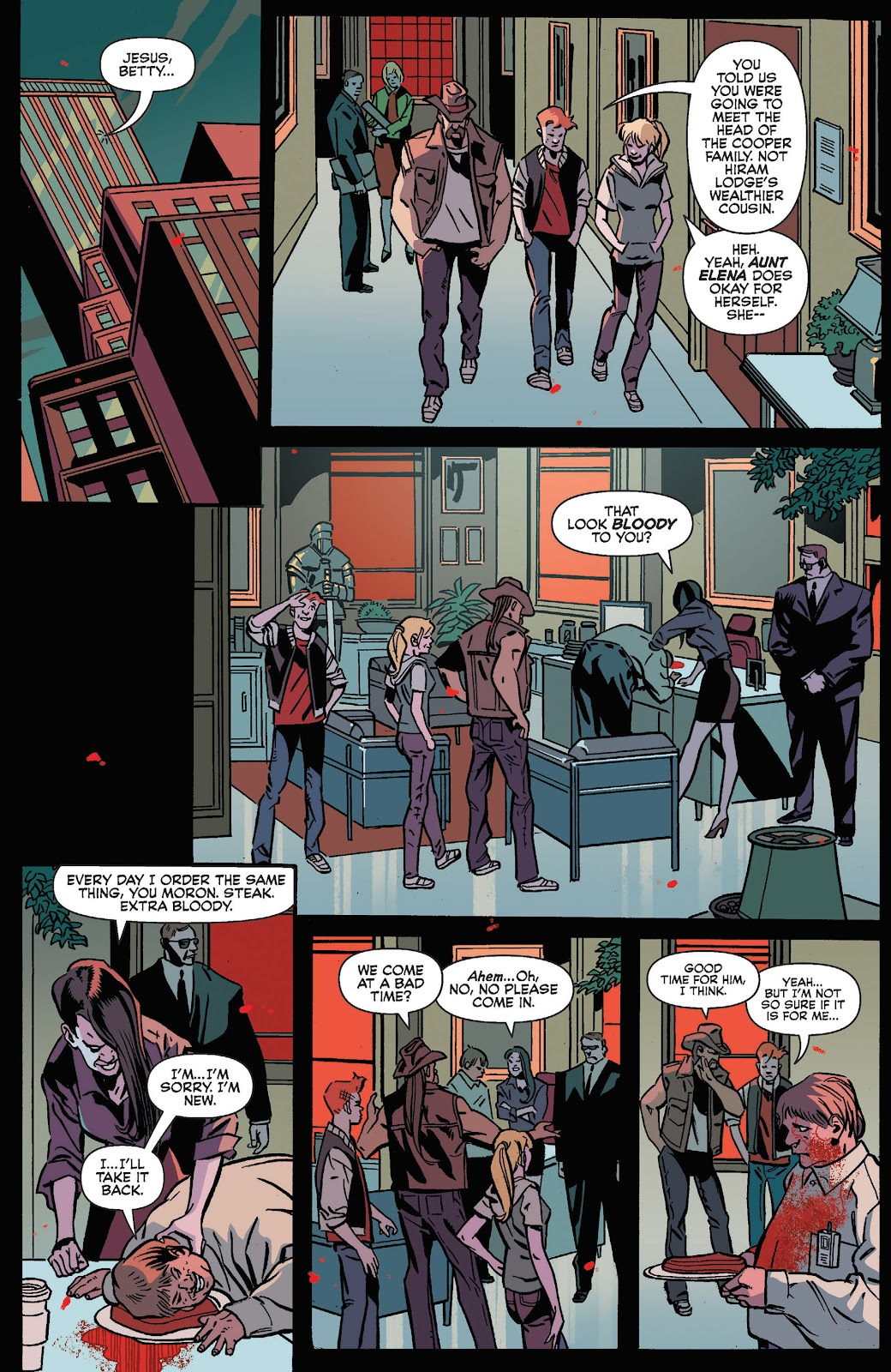 Jughead The Hunger Issue #3 #4 - English 9