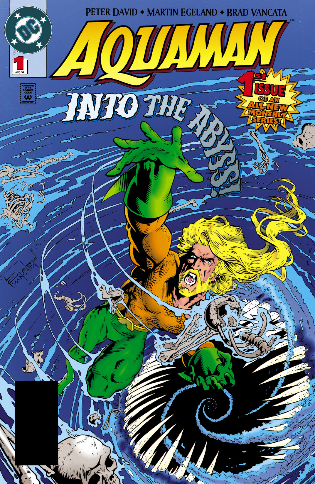 Aquaman (1994) 1 Page 1