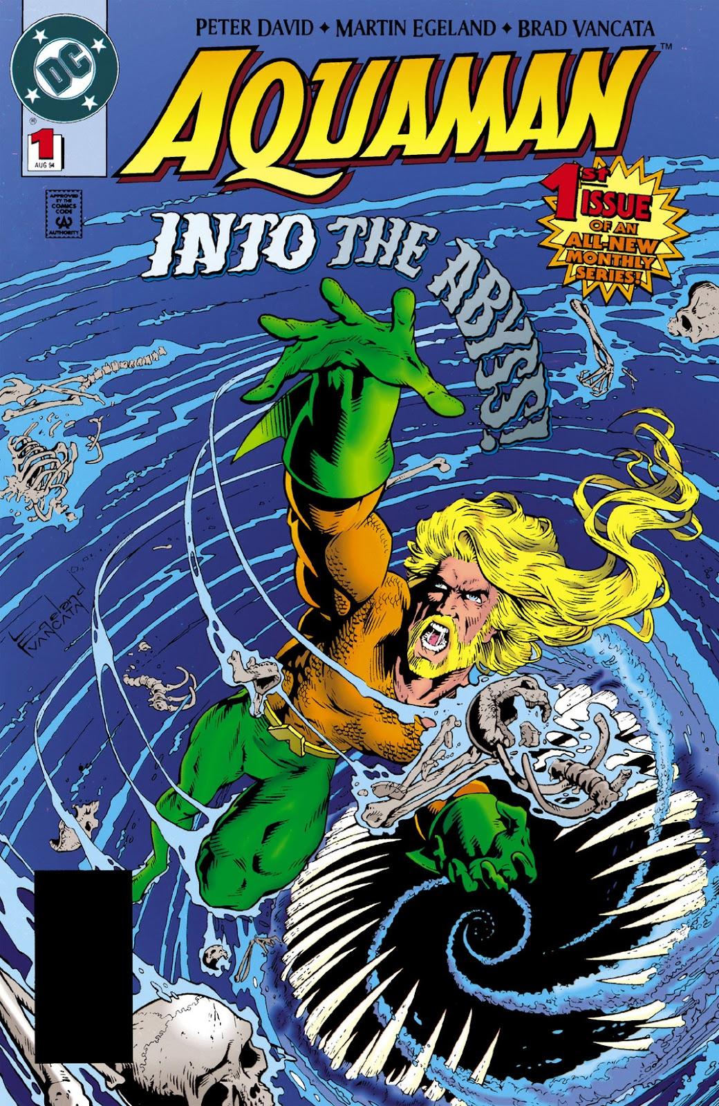 Aquaman (1994) Issue #1 #7 - English 1