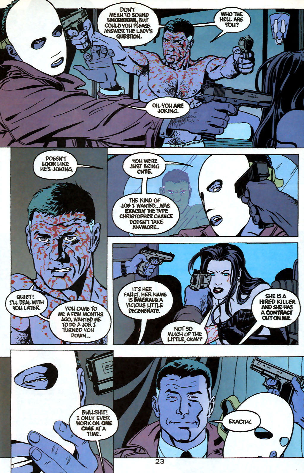 Human Target (1999) 1 Page 23