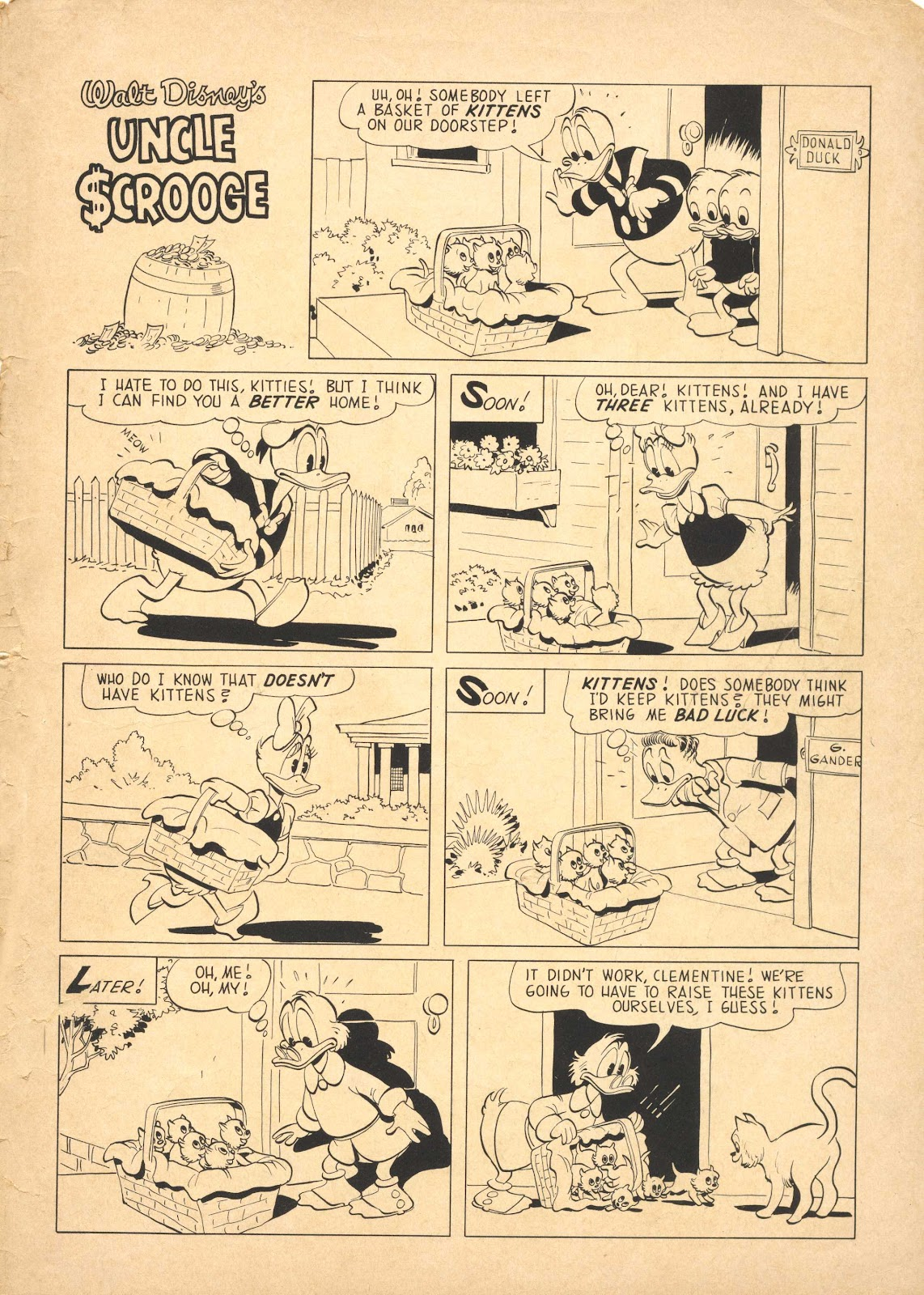 Uncle Scrooge (1953) Issue #25 #25 - English 35