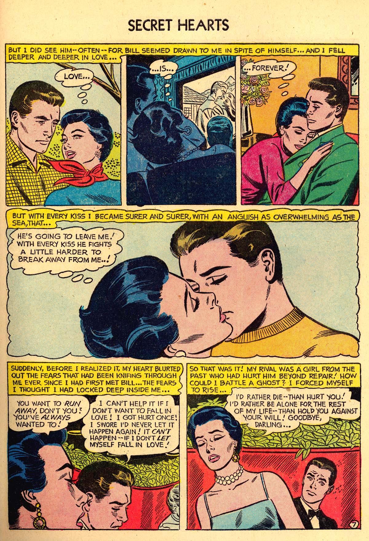 Read online Secret Hearts comic -  Issue #35 - 33