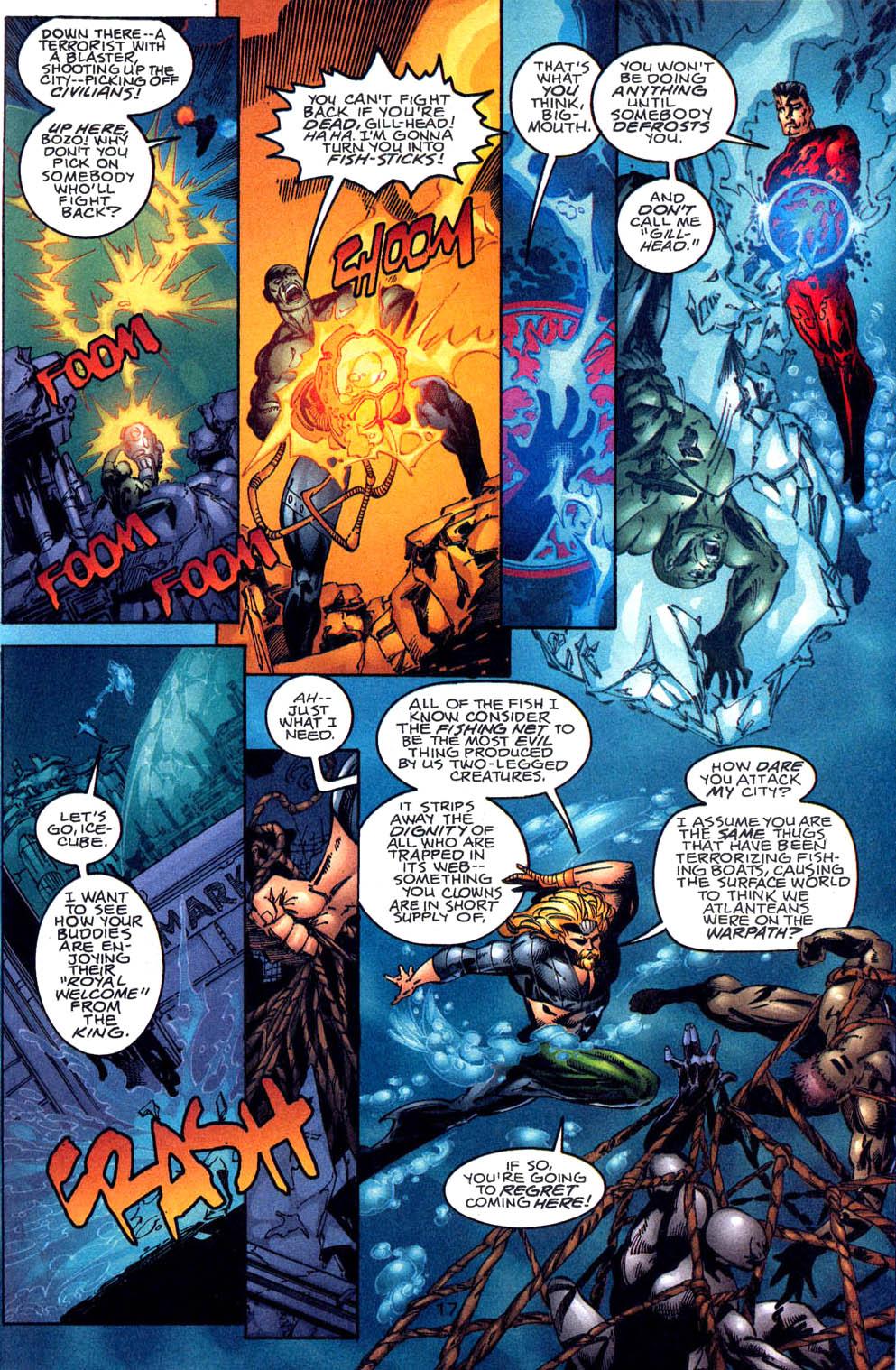 Aquaman (1994) Issue #60 #66 - English 18