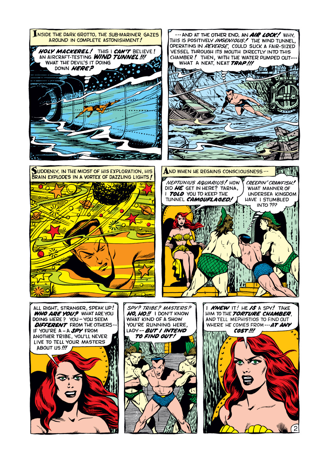 Sub-Mariner Comics #34 #34 - English 3