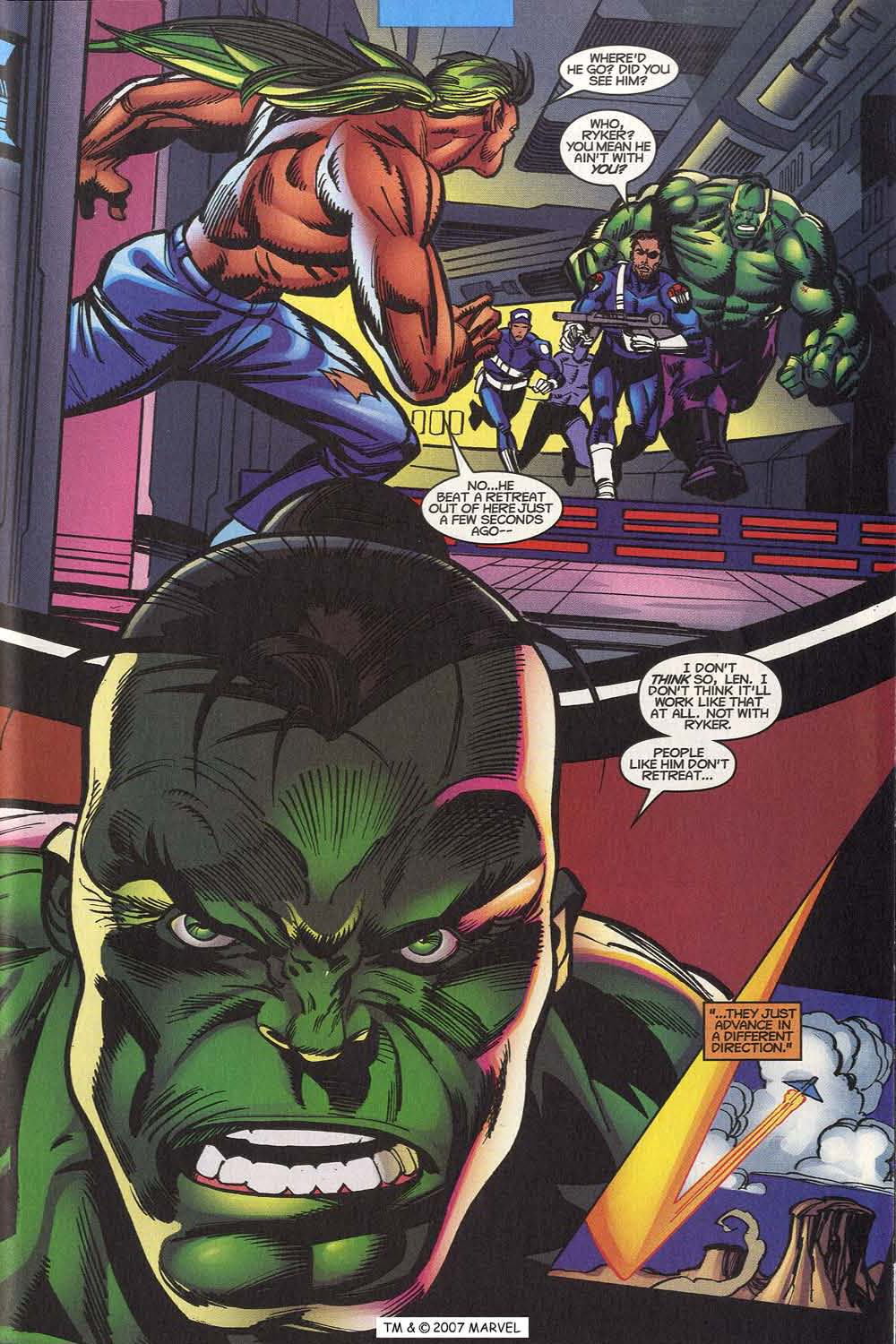 Read online The Incredible Hulk (2000) comic -  Issue #20 - 33
