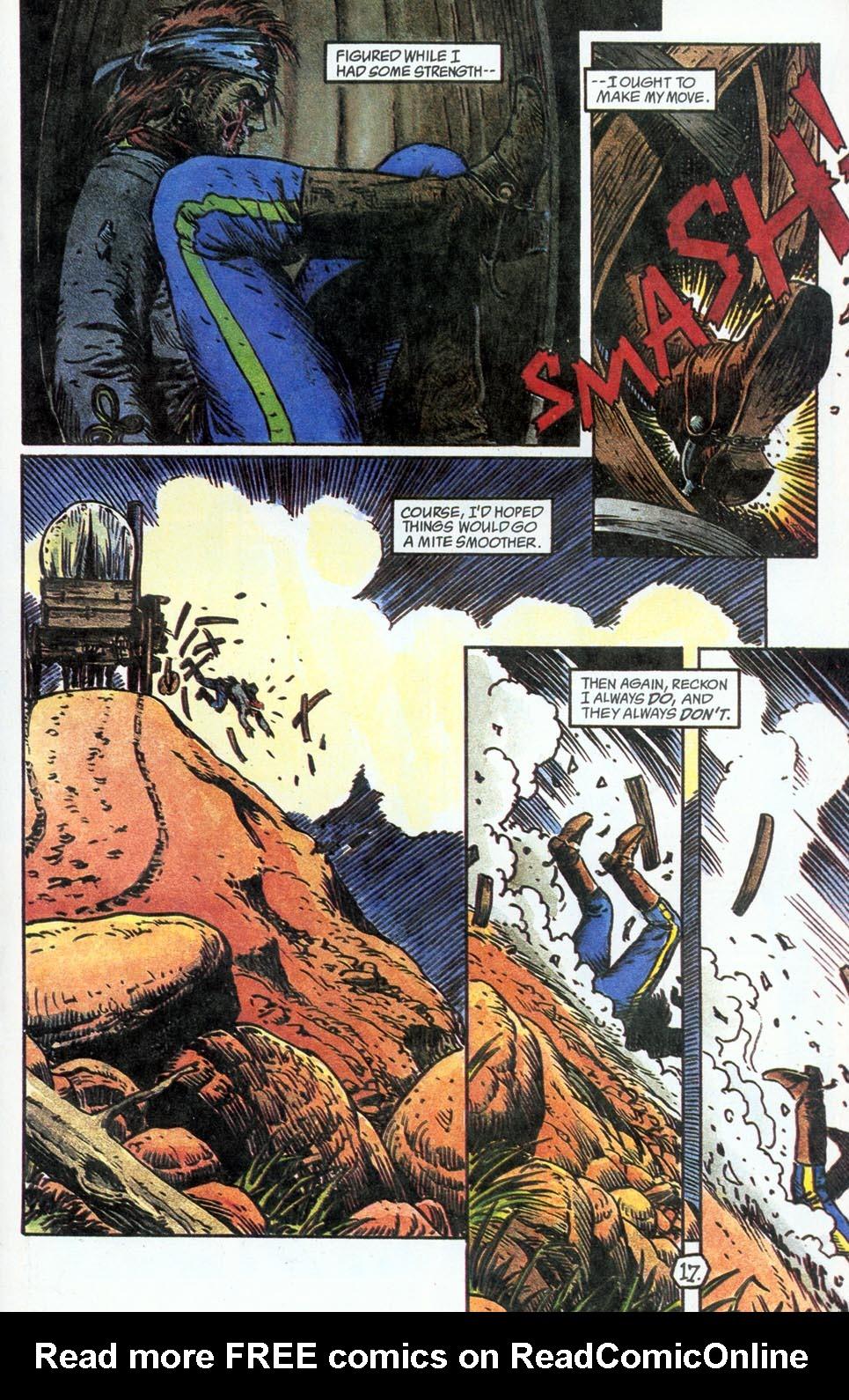 Jonah Hex: Two-Gun Mojo Issue #4 #4 - English 19
