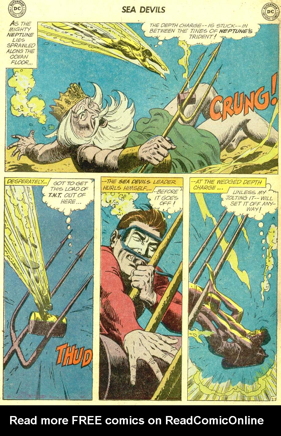 Read online Sea Devils comic -  Issue #10 - 31