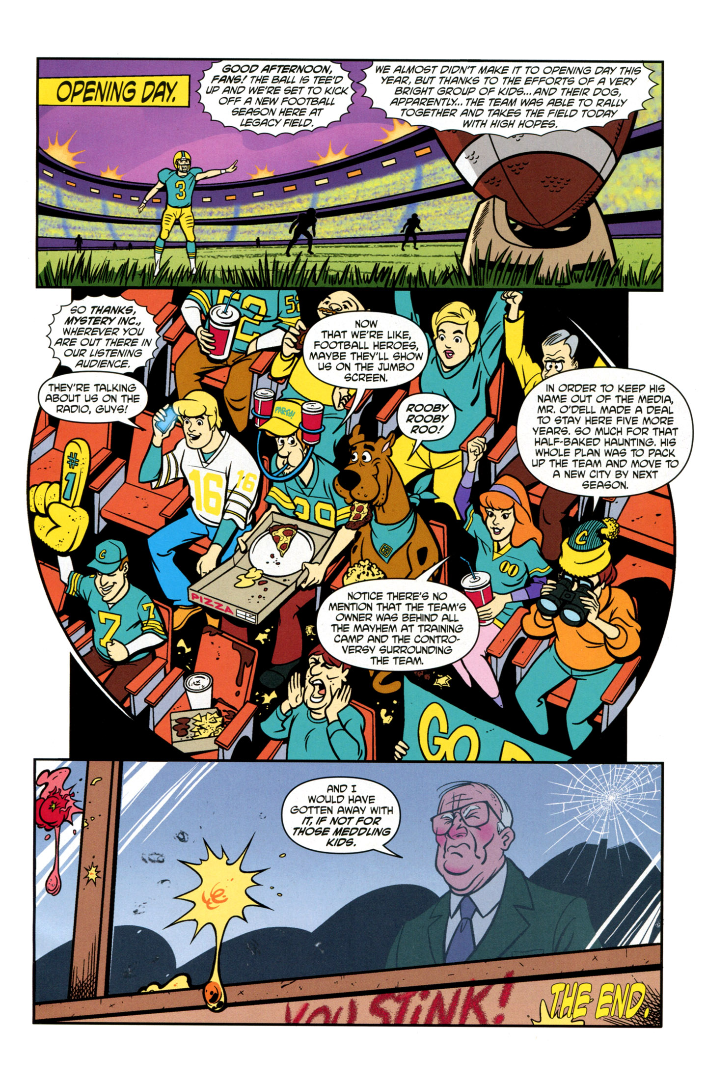 Read online Scooby-Doo: Where Are You? comic -  Issue #21 - 15