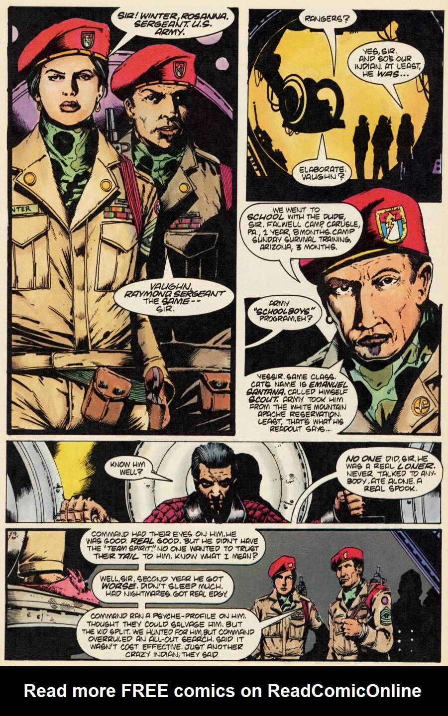 Read online Scout comic -  Issue #2 - 10