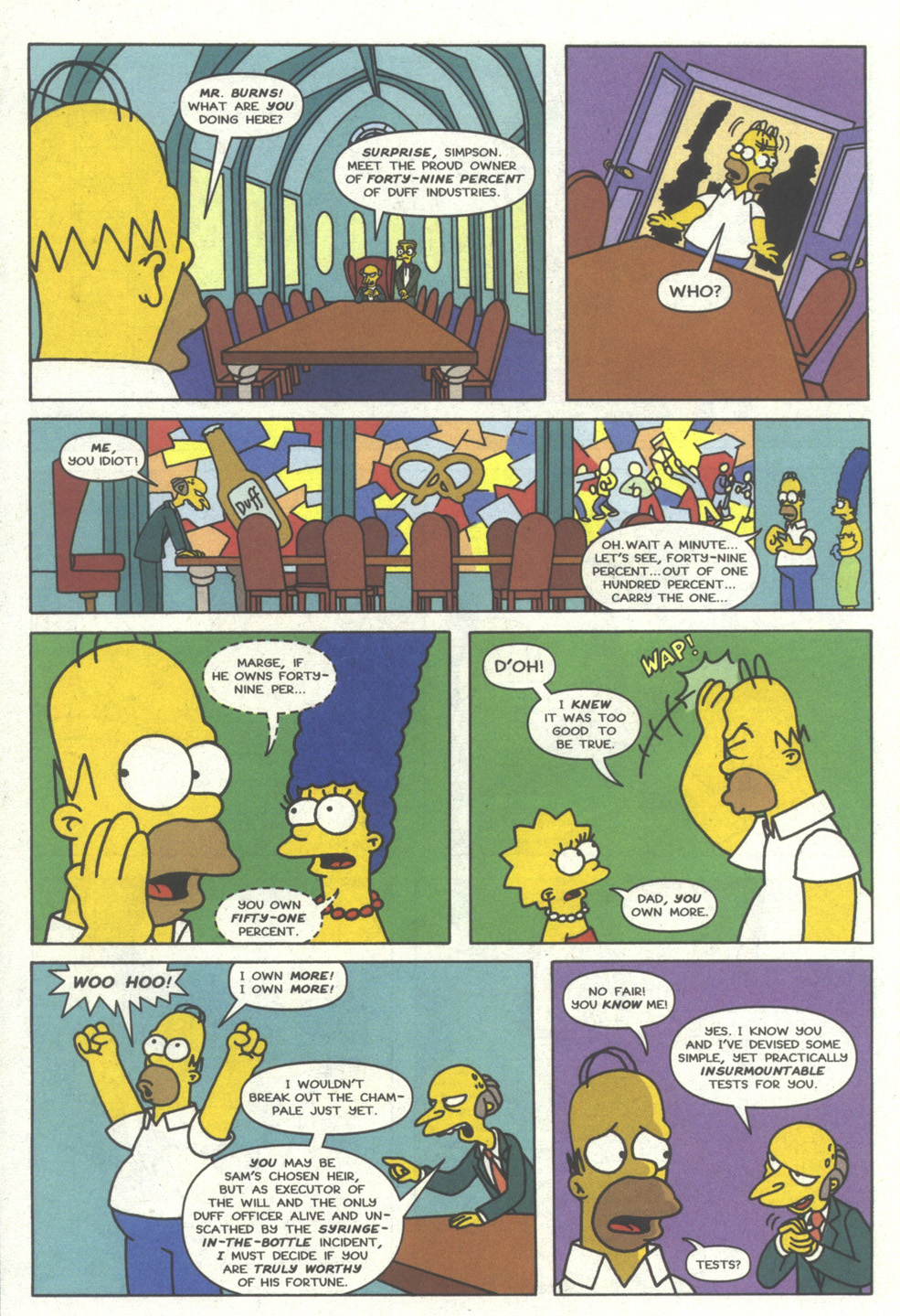 Read online Simpsons Comics comic -  Issue #14 - 13