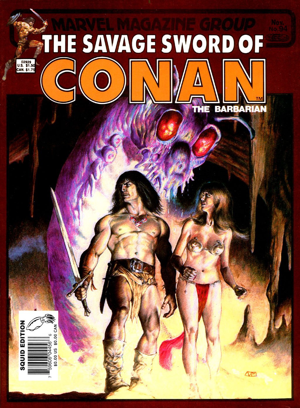 The Savage Sword Of Conan Issue #94 #95 - English 1