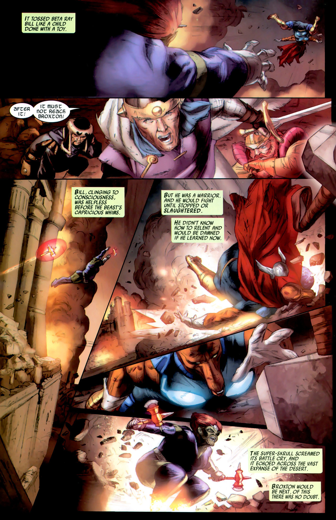 Read online Secret Invasion: Thor comic -  Issue #2 - 22