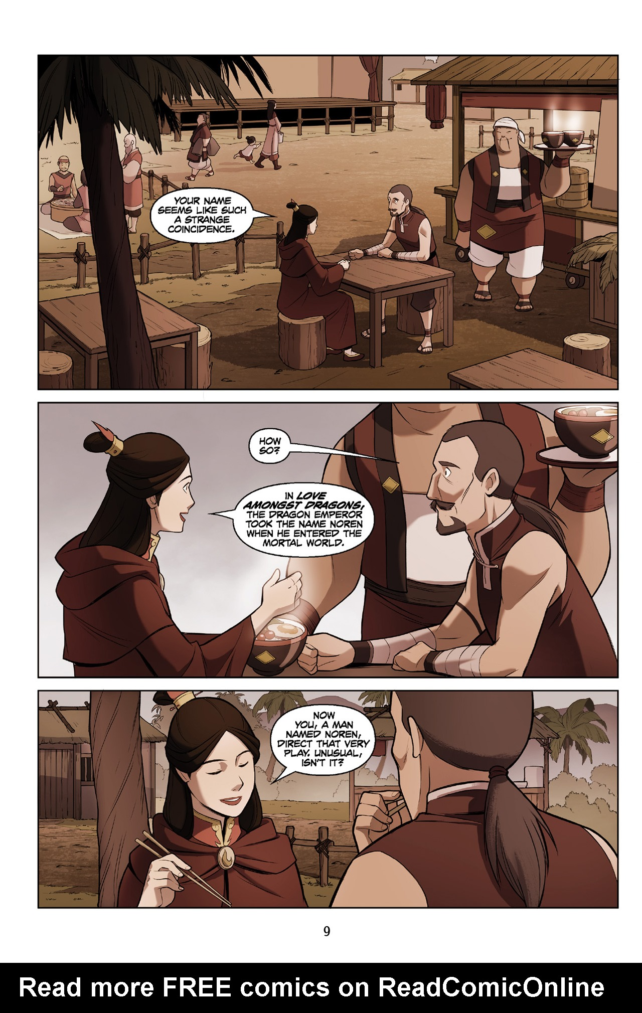 Read online Nickelodeon Avatar: The Last Airbender - The Search comic -  Issue # Part 3 - 10
