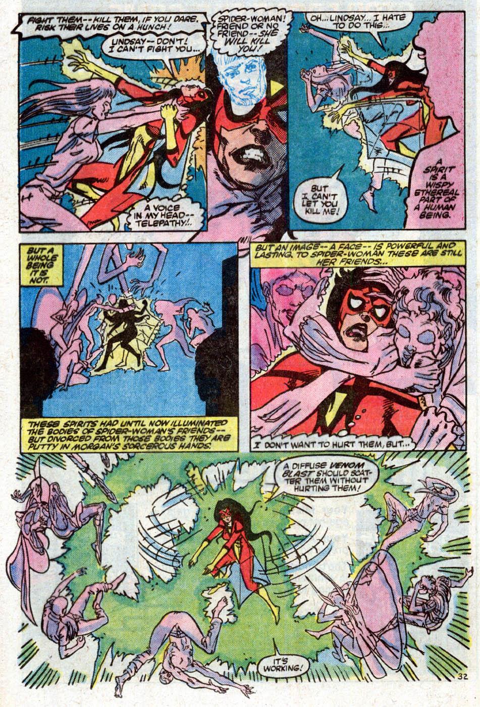 Spider-Woman (1978) #50 #50 - English 34