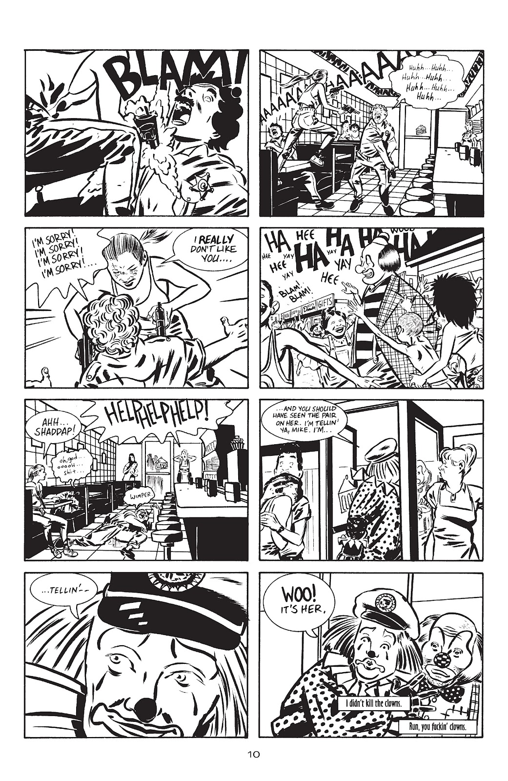 Stray Bullets Issue #10 #10 - English 12