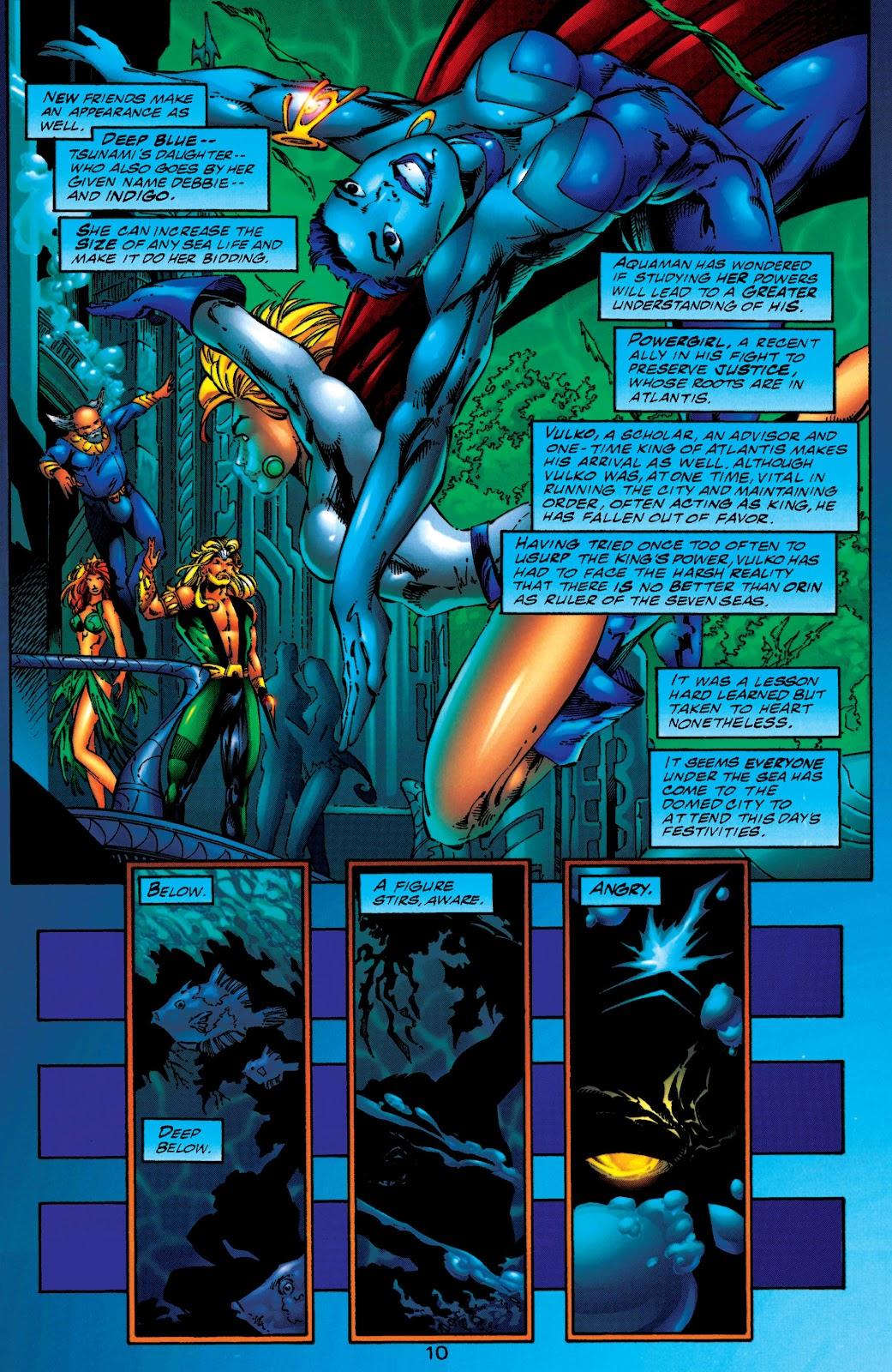 Aquaman (1994) Issue #50 #56 - English 10