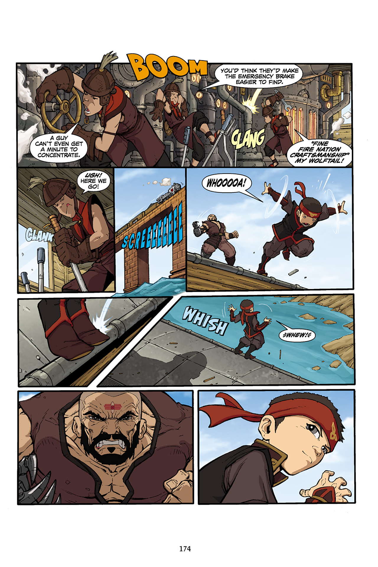 Nickelodeon Avatar: The Last Airbender - The Lost Adventures chap full pic 175