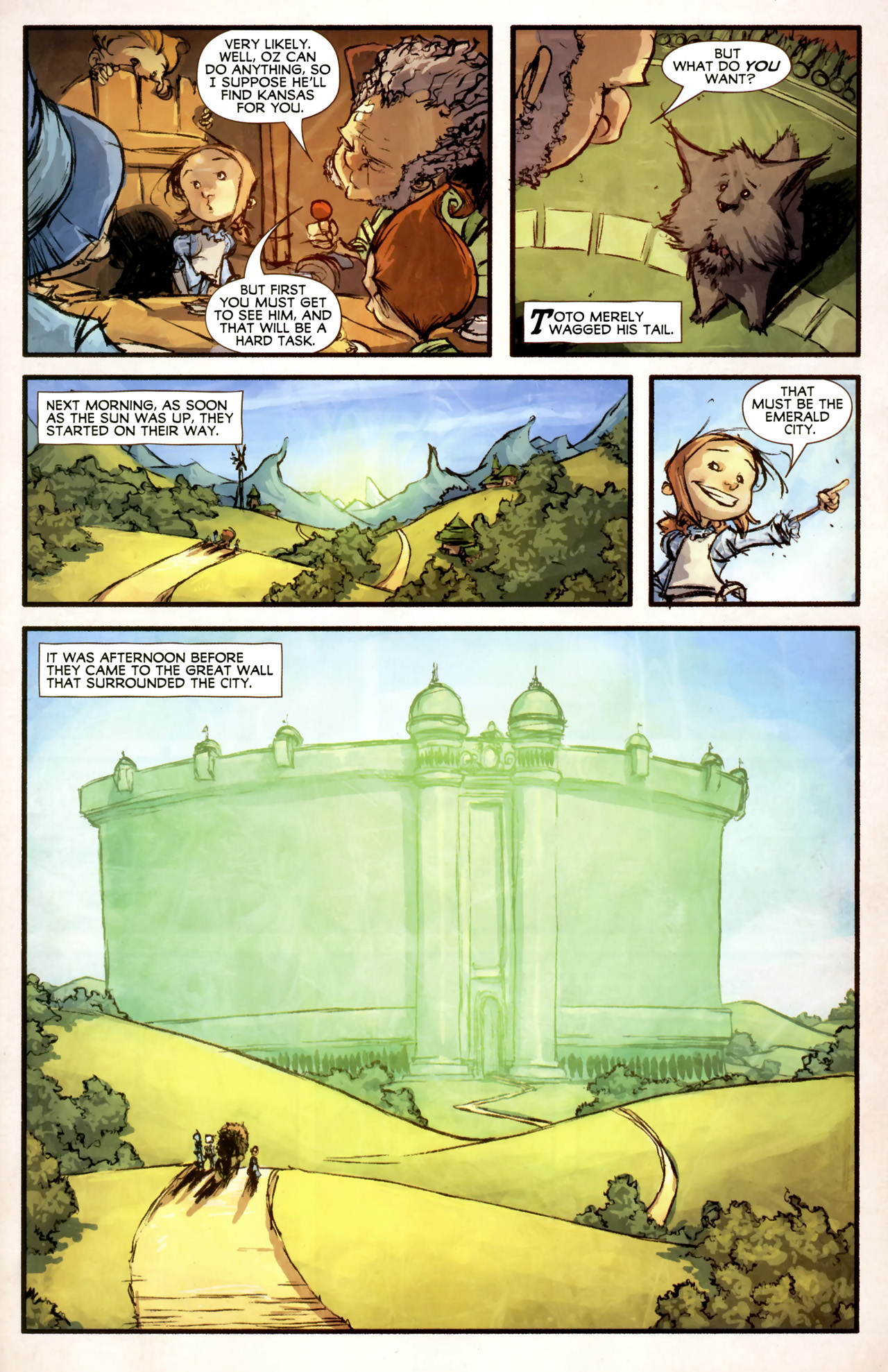 Read online The Wonderful Wizard of Oz comic -  Issue #4 - 7