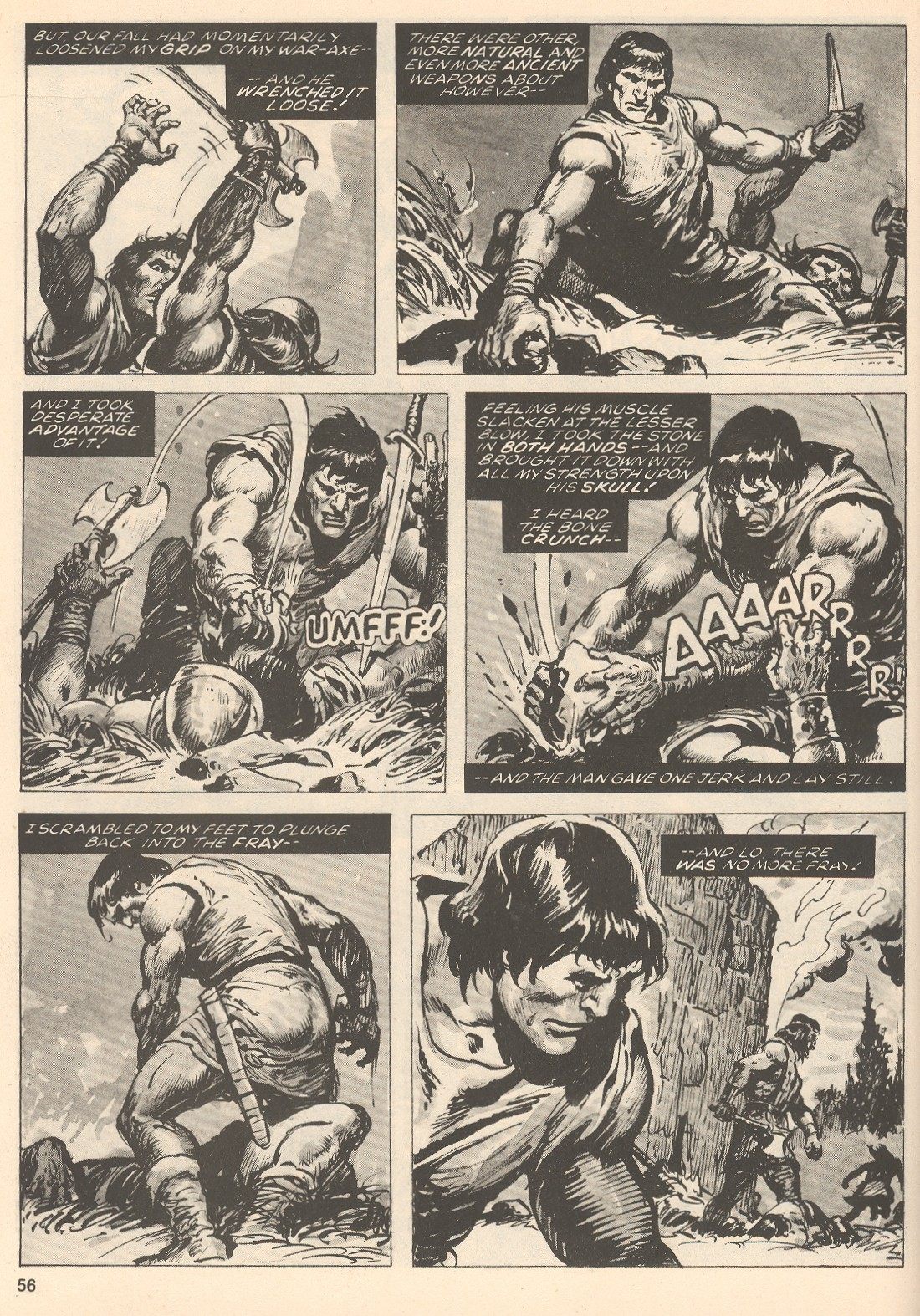 The Savage Sword Of Conan Issue #76 #77 - English 56