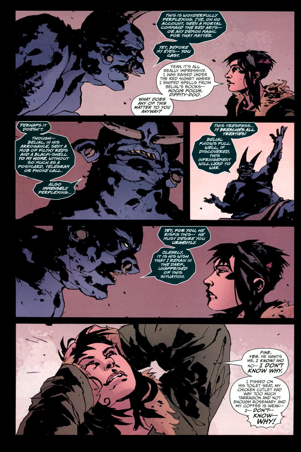 Strange Girl Issue #10 #11 - English 17