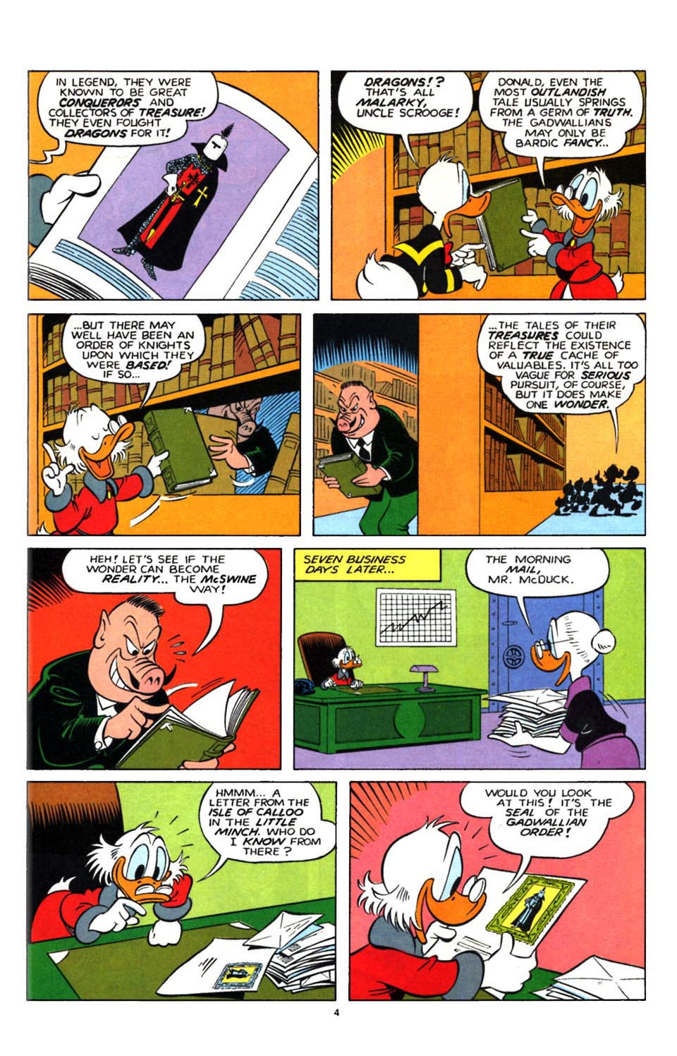 Uncle Scrooge (1953) Issue #247 #247 - English 20