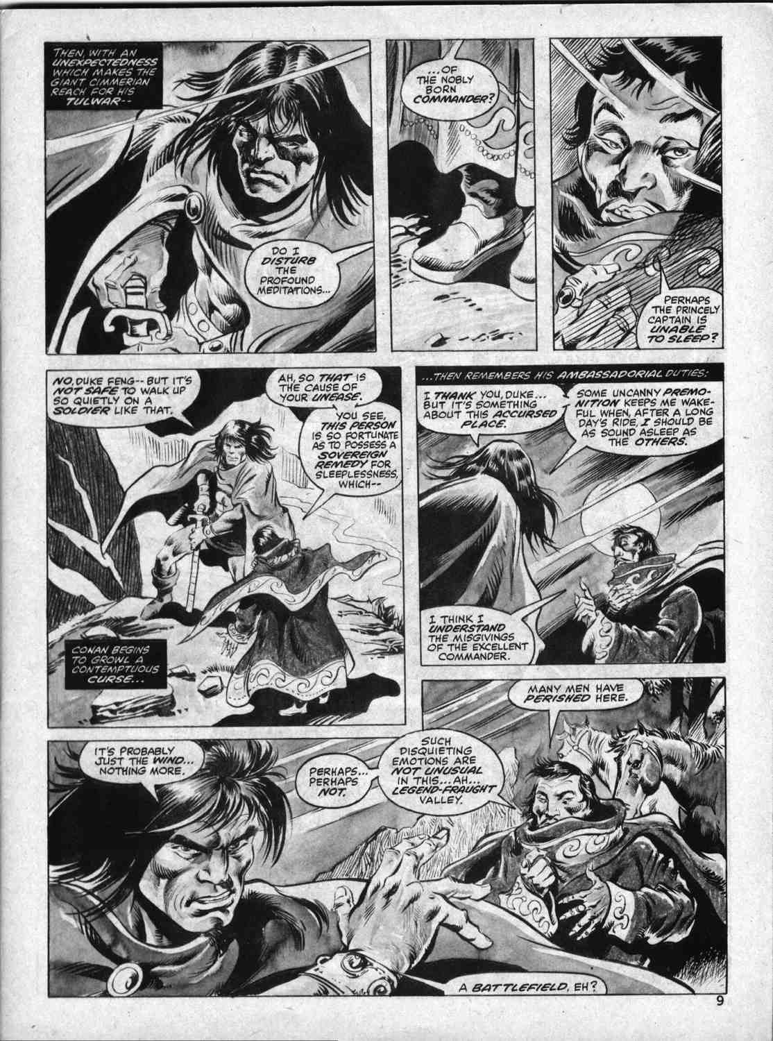 The Savage Sword Of Conan Issue #33 #34 - English 8