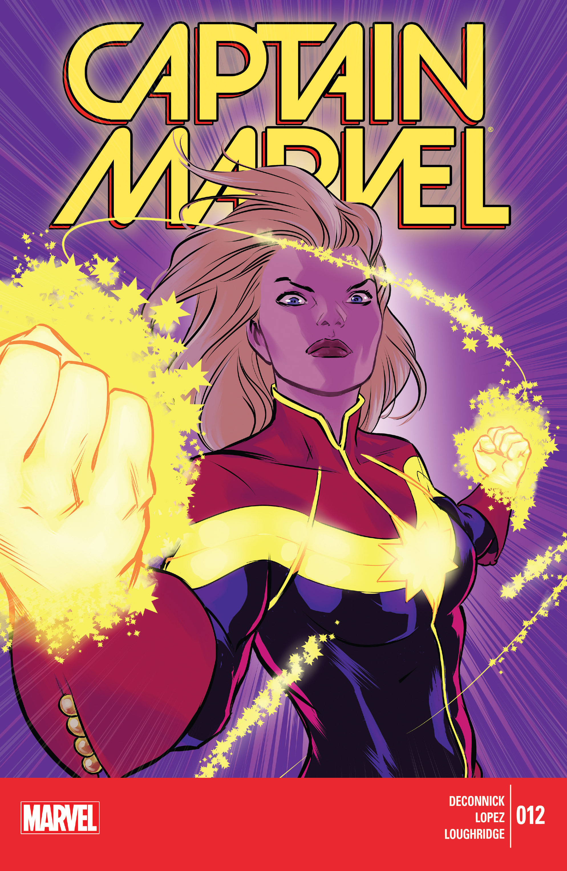 Captain Marvel (2014) 12 Page 1