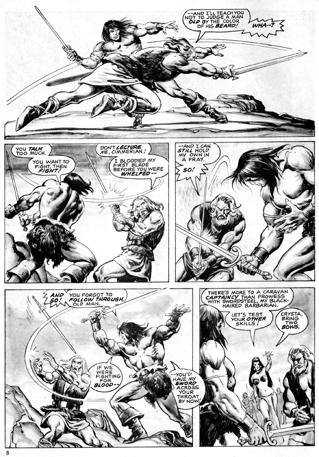 The Savage Sword Of Conan Issue #69 #70 - English 8