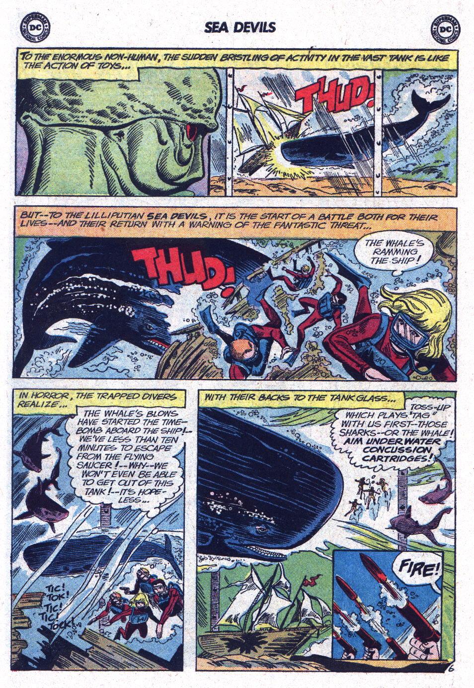 Read online Sea Devils comic -  Issue #13 - 30