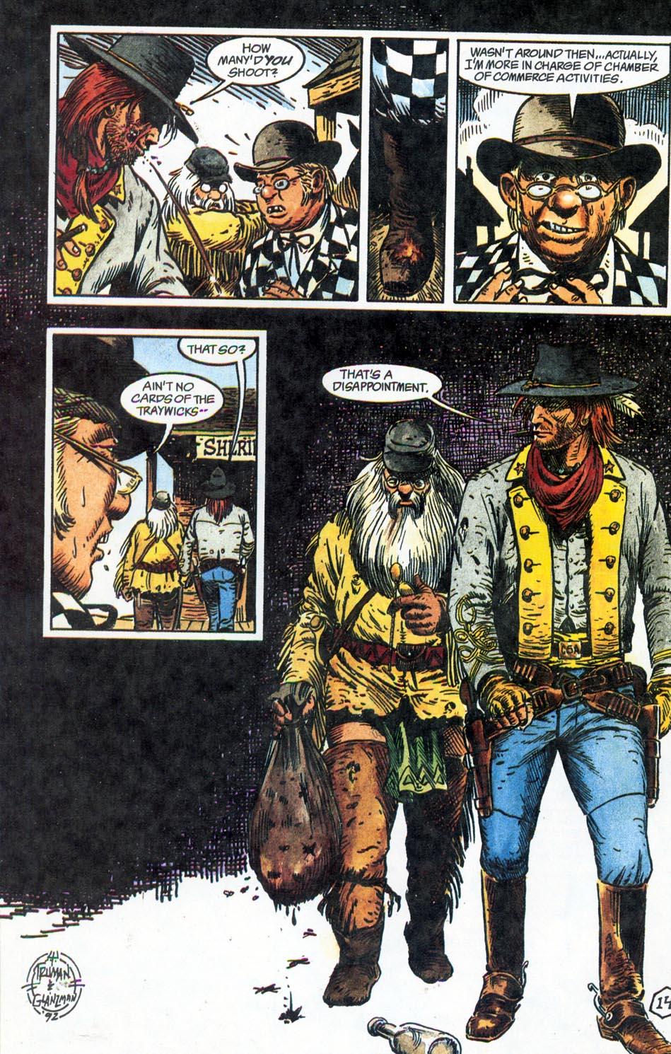 Jonah Hex: Two-Gun Mojo Issue #1 #1 - English 16