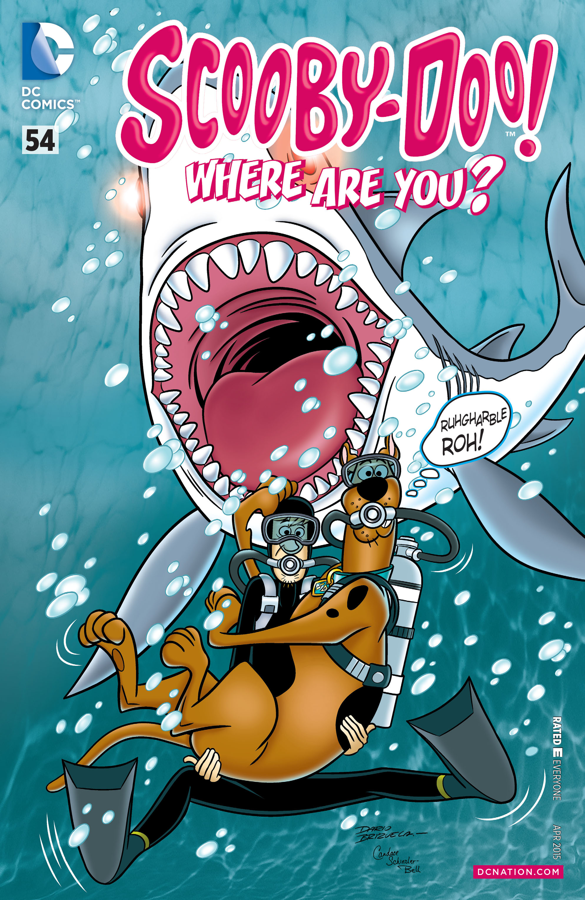 Read online Scooby-Doo: Where Are You? comic -  Issue #54 - 1