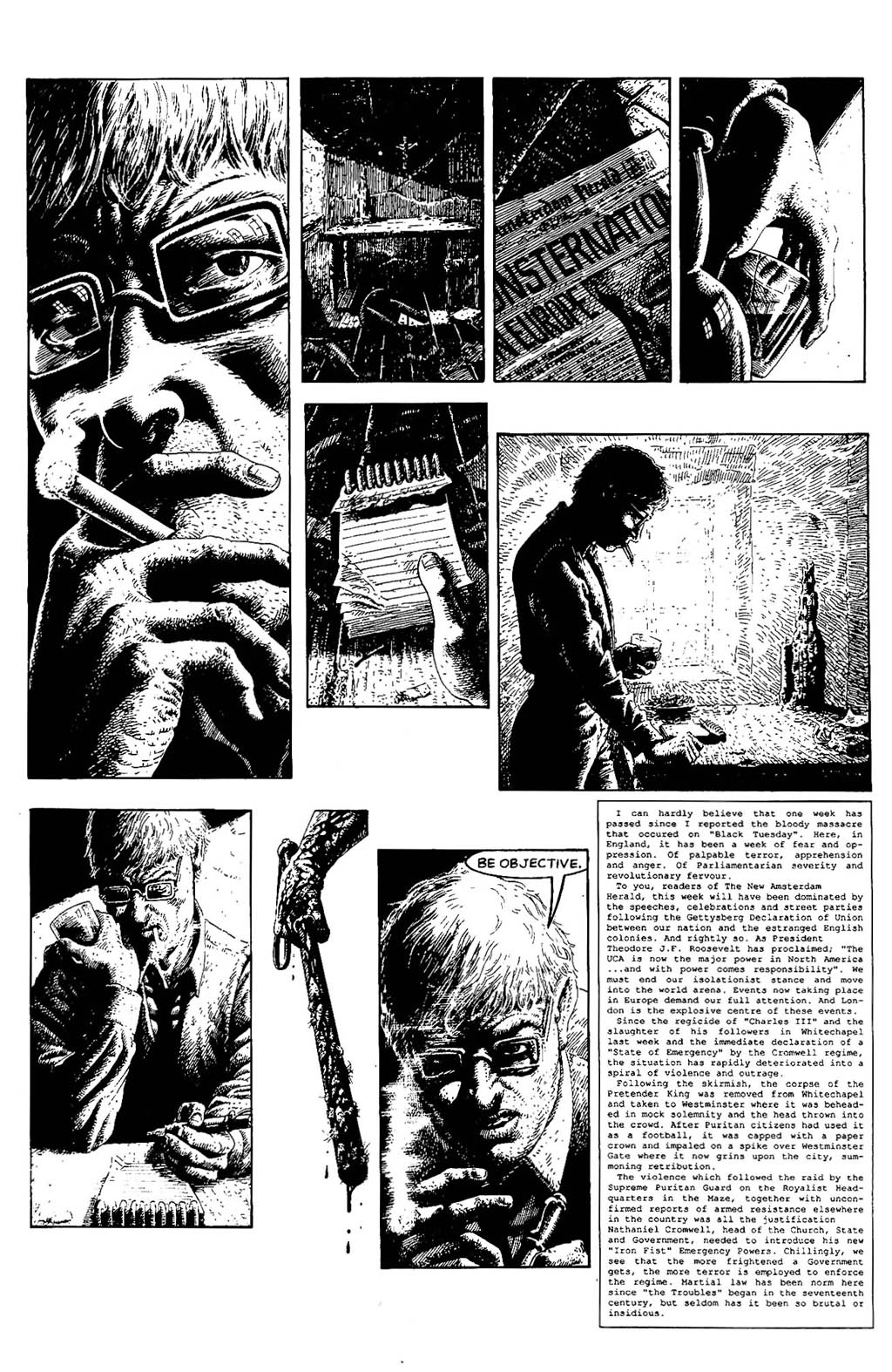 Read online The Adventures of Luther Arkwright comic -  Issue #5 - 5