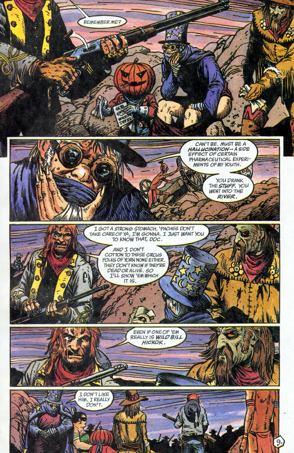 Jonah Hex: Two-Gun Mojo Issue #5 #5 - English 11