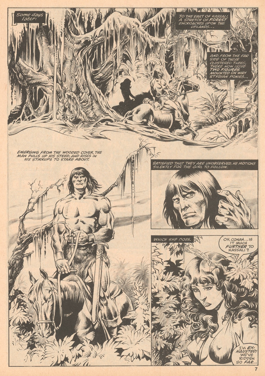 The Savage Sword Of Conan Issue #60 #61 - English 7