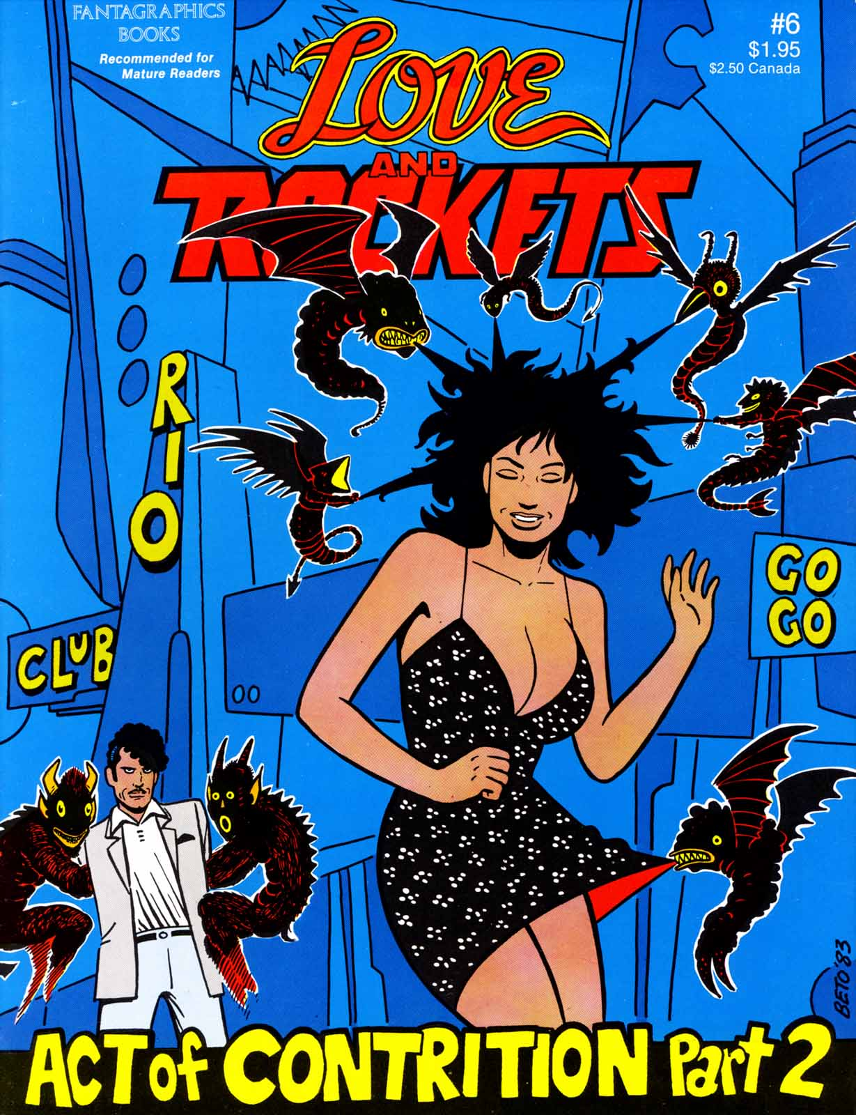 Love and Rockets (1982) Issue #6 #5 - English 1