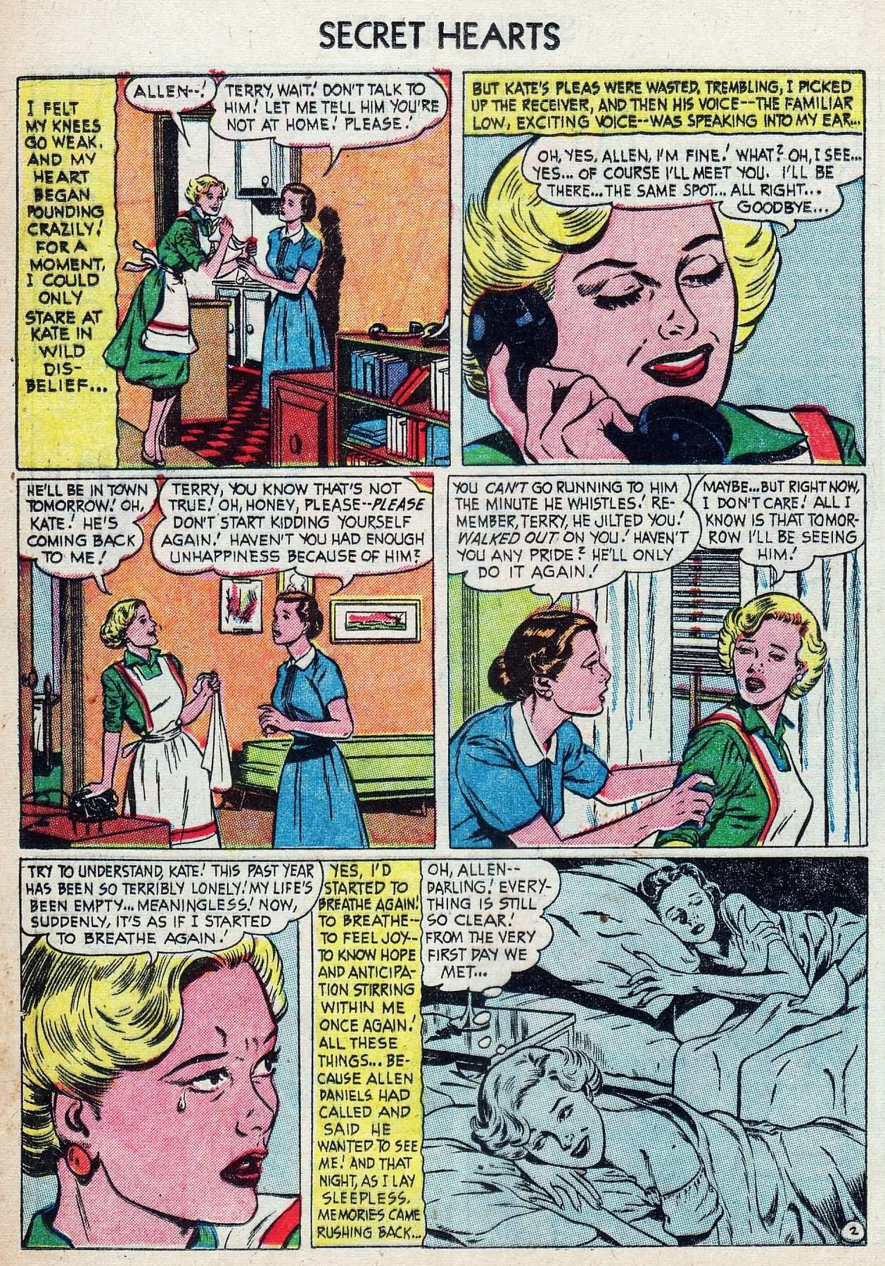 Read online Secret Hearts comic -  Issue #25 - 20
