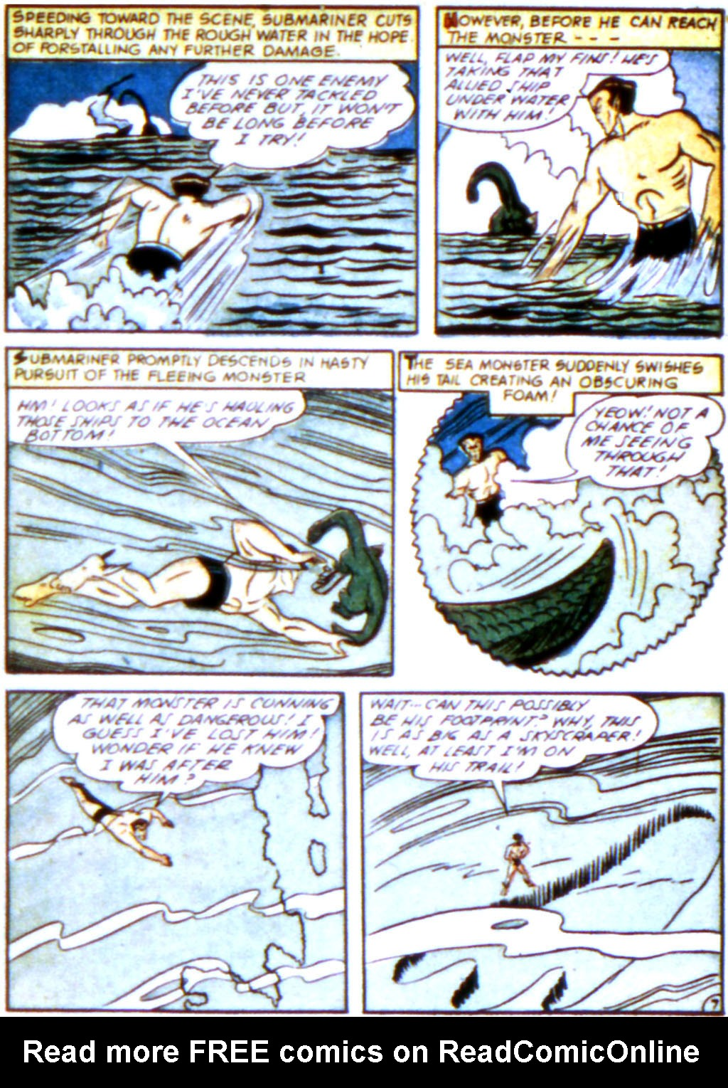 Sub-Mariner Comics Issue #12 #12 - English 21