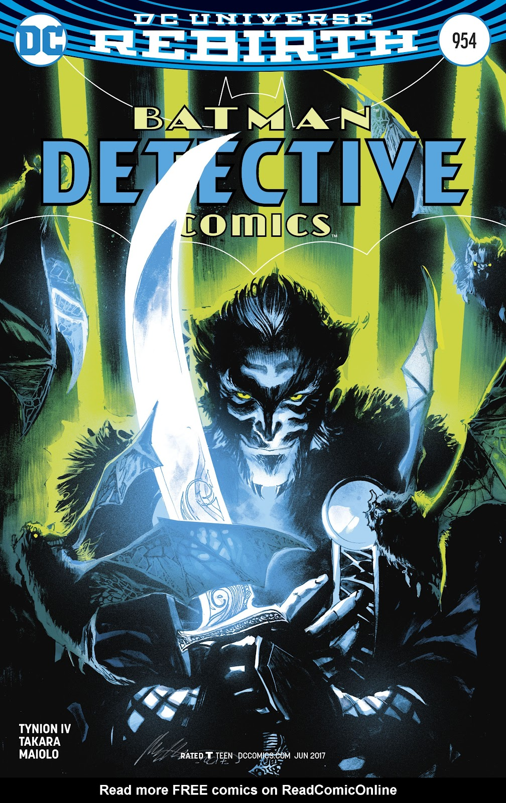 Detective Comics (2016) Issue #954 #21 - English 3