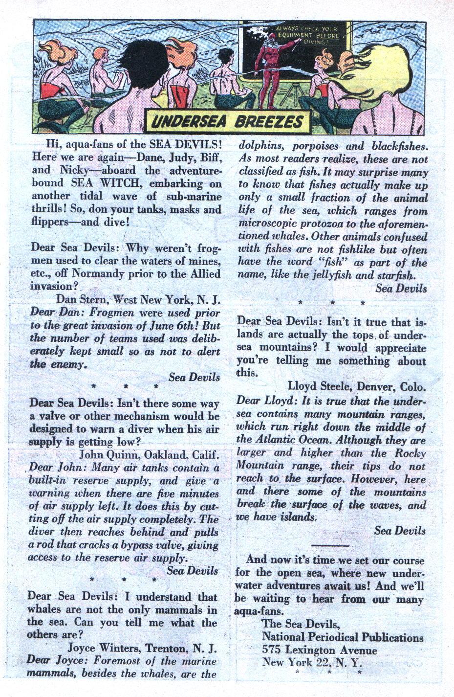 Read online Sea Devils comic -  Issue #6 - 19
