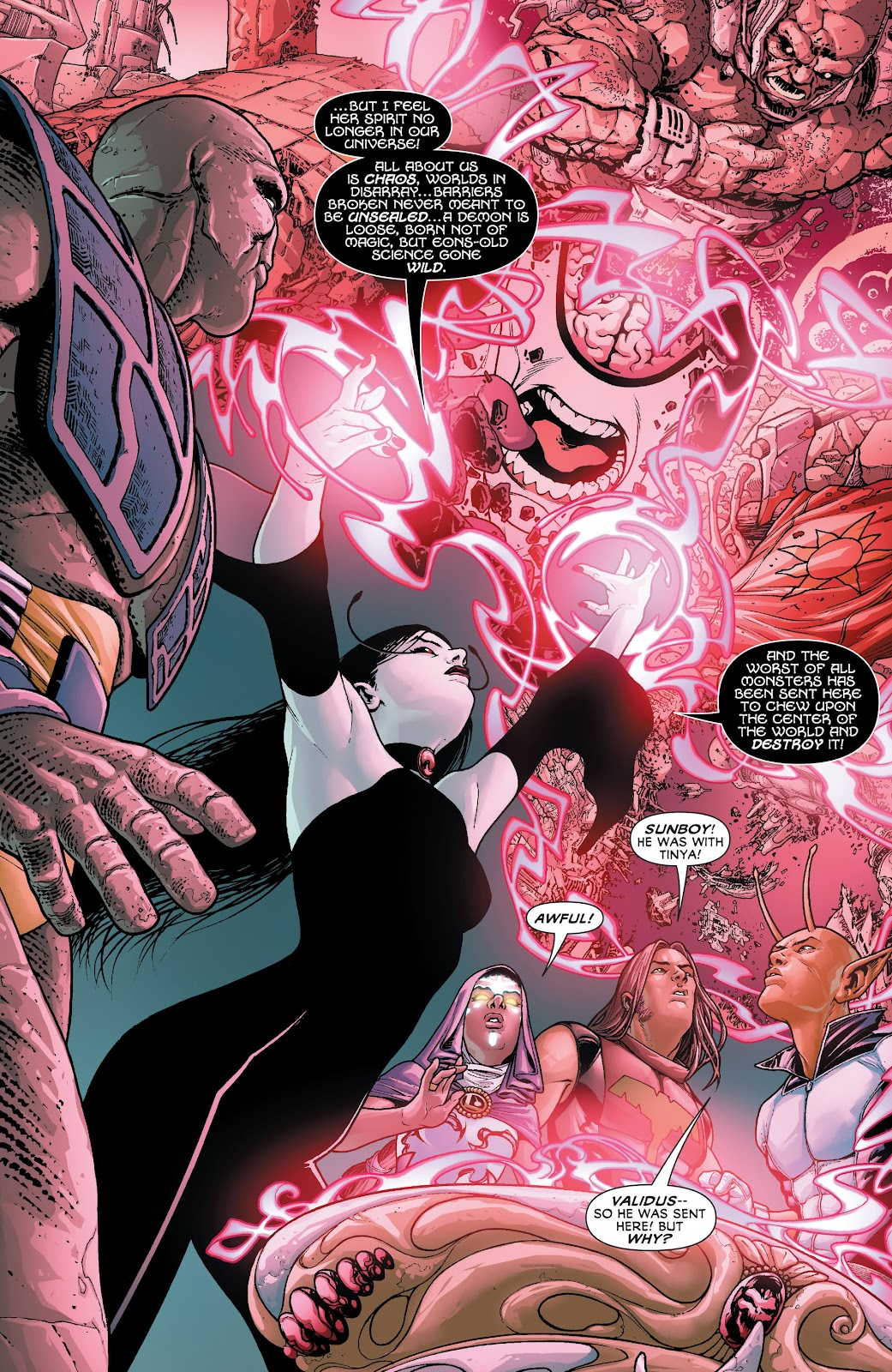 Legion of Super-Heroes (2011) Issue #20 #21 - English 9